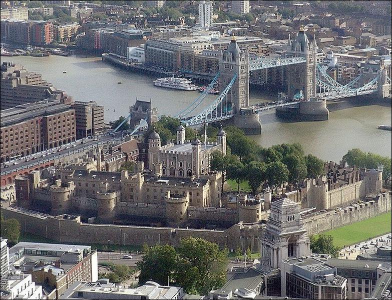 A quels oiseaux la Tour de Londres est-elle associée ?
