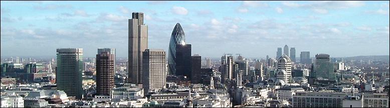 A Londres, le quartier financier se nomme :