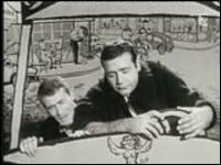 Quel sketch de Jean Yanne et Lawrence Riesner se déroule dans une voiture ?