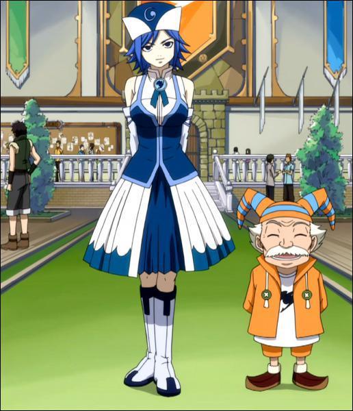 De quelle guilde Jubia faisait-elle partie avant de rejoindre Fairy Tail ?