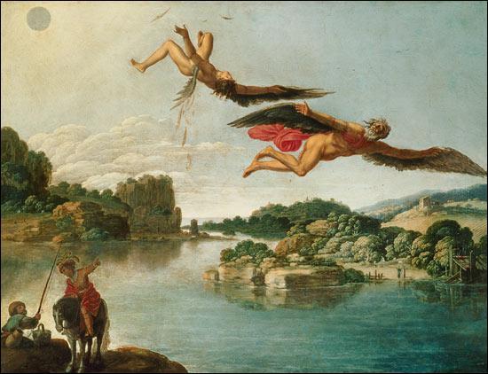 Dédale prit l'un de ses élèves comme apprenti. Ce dernier inventa le compas et la scie. Sentant qu'il le surpassait, Dédale le précipita du haut de l'Acropole. Comment se prénommait cet apprenti ?