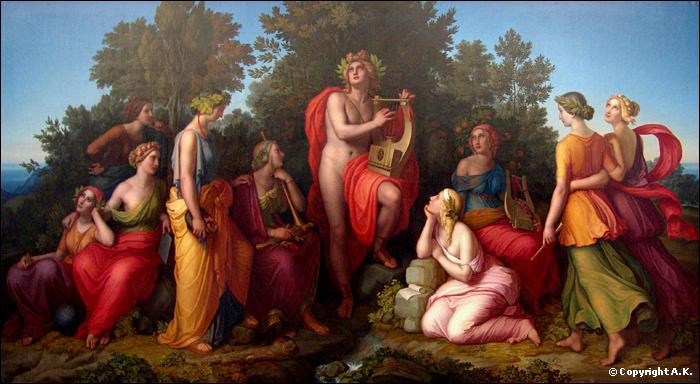 Parmi les 9 muses de la mythologie grecque, laquelle est surnommée la 'chanteuse' ?