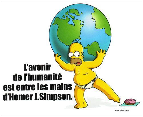 Homer : 'Je me suis toujours posé la question s'il y avait un dieu, maintenant je sais ...