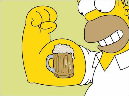 Selon Homer l'alcool est la cause...