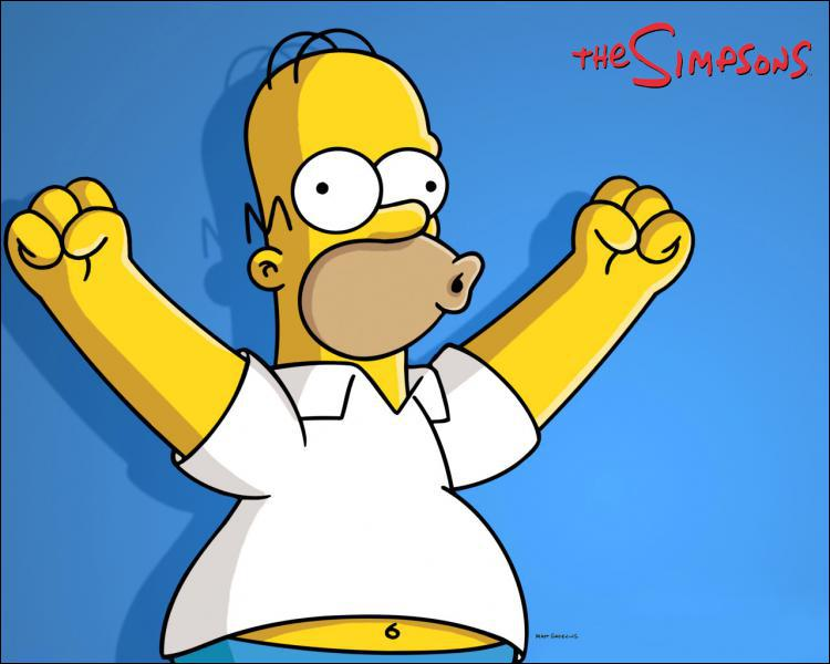 Homer se parle à lui-même : 'Tais-toi le cerveau ou...