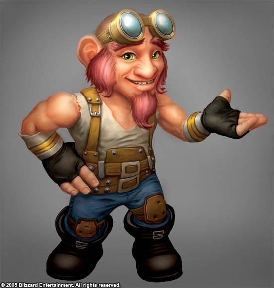 Pour quoi sont réputés les gnomes ?