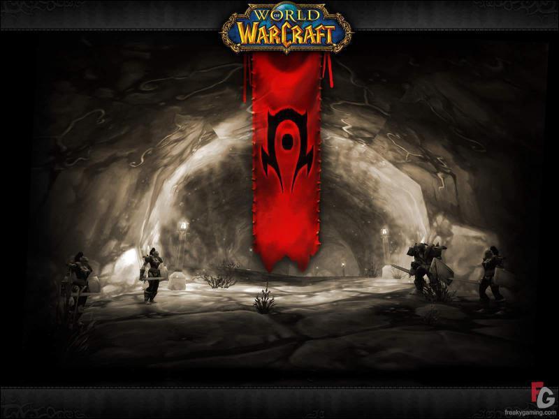 La Horde est composée des races suivantes : elfe de sang, tauren, mort vivant, ...