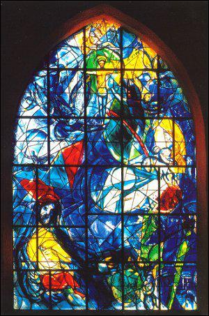 A part la peinture, quels types d'oeuvres réalise Chagall ?
