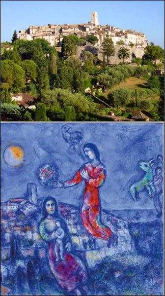Où Chagall finit-il sa vie ?
