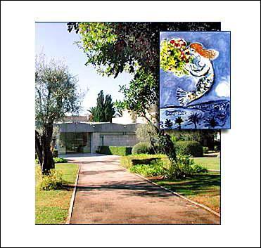 Où se trouve le musée Chagall ?