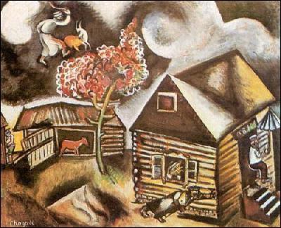 Quelle est la principale source d'inspiration de Chagall ?
