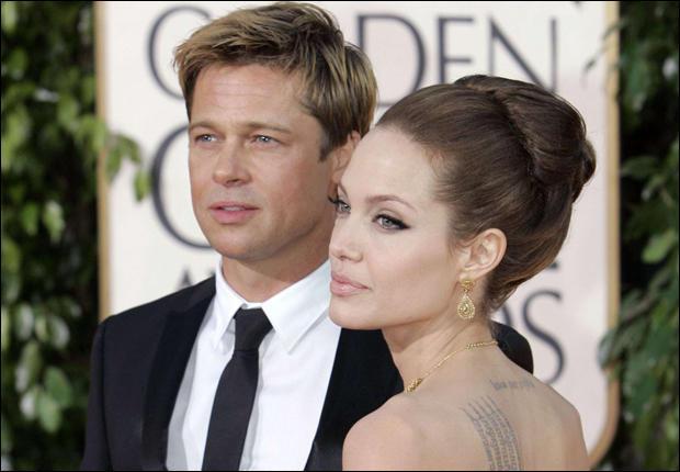 Brad Pitt sort avec :