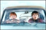 Comment Ron et Harry arrivent-ils à Poudlard ?