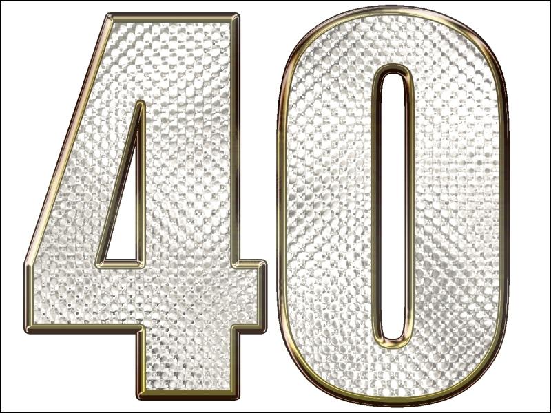 ''S'en moquer comme de l'an 40'' signifie n'avoir rien à faire d'un événement passé. De quelle année parle-t-on ?