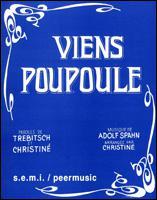 Qui, au tout début du XXe siècle, chantait 'Viens Poupoule' ?