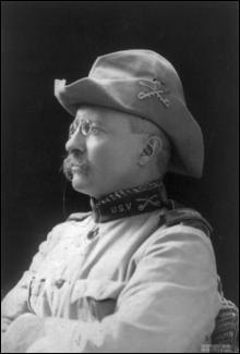 Theodore Roosevelt est réélu président des Etats-Unis, le 8 novembre...