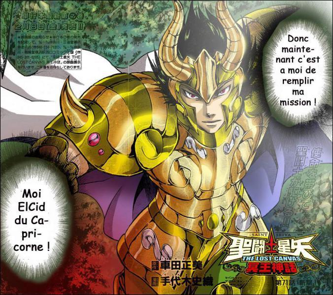 Qui est le chevalier d'or du Capricorne ?