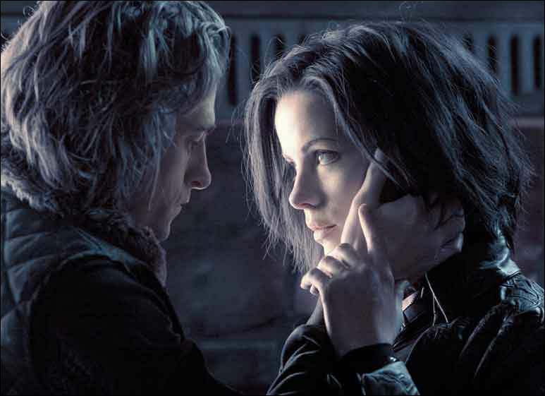 Dans quel endroit Selene et MIckael font l'amour ?