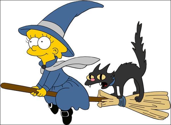 Combien Lisa a-t-elle de pics sur sa tête ?