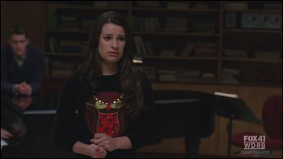 Avec qui Rachel chante-elle 'Total eclipse of the heart' ?