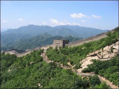 Où se trouve cette grande muraille ?