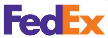 Quel signe est bien caché dans le logo de Fedex ?