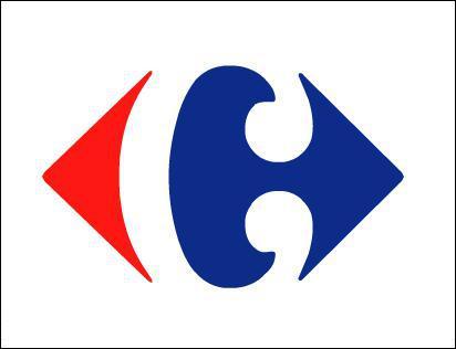 Que représente le logo Carrefour ?