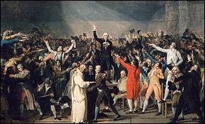 Quel révolutionnaire français a prononcé le discours du ''serment du Jeu de paume'' , fut élu premier maire de Paris en 1789 et ordonna le feu sur les émeutiers du Champ-de-Mars ?