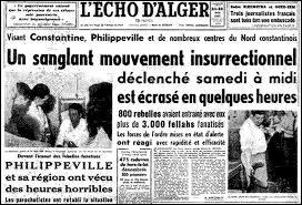 Au début, comment fut appelé en métropole le mouvement insurrectionnel algérien qui devait aboutir à l'indépendance du pays ?