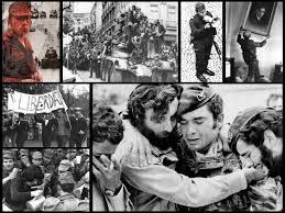 Lors de cette révolution en 1974, les militaires insurgés ont mis dans le canon de leur fusil...