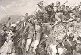 En 1857, la révolte des cipayes (Indiens de l'armée britannique) est le premier mouvement de révolte qui aboutira à l'indépendance de l'Inde. Quel fut l'élément déclencheur ?