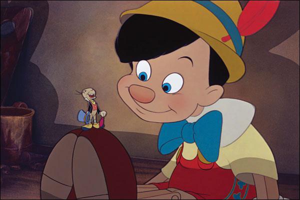 Qu'arrive-t-il à Pinocchio quand il ment ?