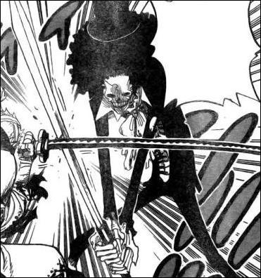 Quel est le nom de ce personnage de l'équipage Mugiwara ?