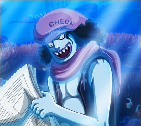 Encore un homme poisson, pouvez-vous me dire de qui s'agit-il ?