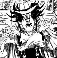 Personnages de One Piece animé et scan