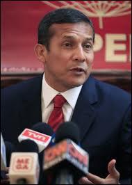 Depuis le 5 juin 2011, qui préside le Pérou ?