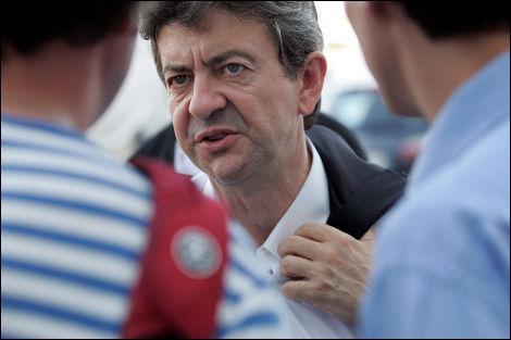 A un journaliste, Jean-Luc Mélenchon a opposé...