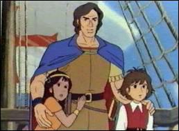 A la mort de son tuteur, Esteban apprend qu'il a été trouvé bébé en mer par un navigateur qui possède la seconde partie de son médaillon. Quel est le nom de cet aventurier ?
