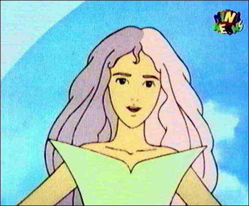 Après avoir perdu l'usage de ses jambes, l'héroïne va vivre milles aventures grâce à Héméra, une fée qui la prend sous sa protection. Comment apparaît celle-ci ?