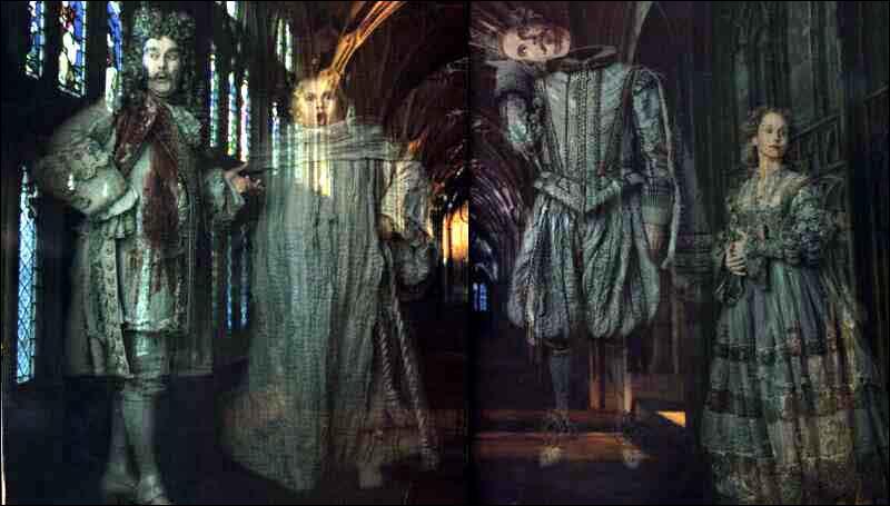 Quel est le fantôme de Poufsouffle ?