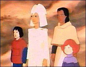 'Toi, enfant de la Terre, écoute-moi... '. Quel est le nom du groupe qui chantait le générique de cette série ?