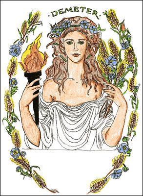 Qui est la fille de Déméter ?