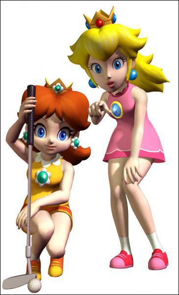 Dans lequel de ces jeux Peach n'est-elle jamais en robe ?