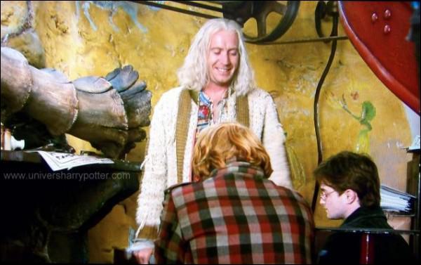 Qui a parlé à Hermione, Ron et Harry des reliques de la mort ?