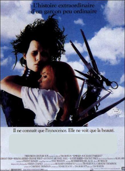 Cet autre film fantastique de Tim Burton met en scène Johnny Depp et s'appelle... ?