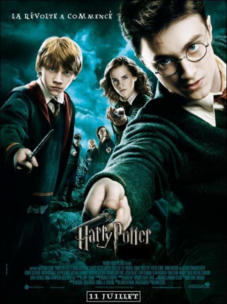 Ce film fait partie de la saga Harry Potter et s'appelle... ?