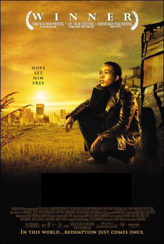 Ce film dramatique parle de la rédemption d'un gangster en Afrique du Sud. C'est... ?