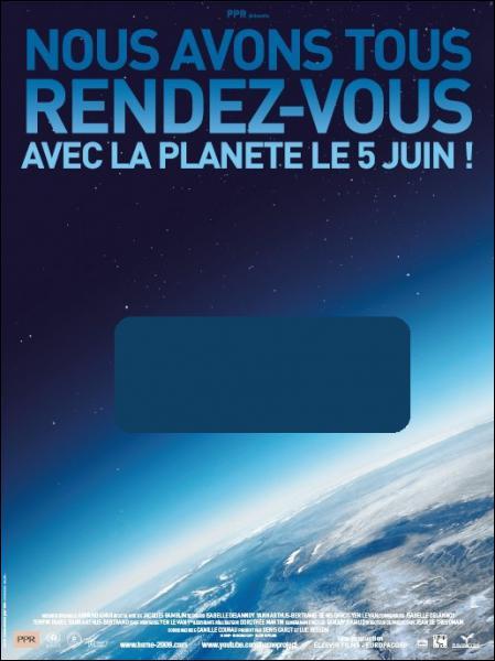 Ce film écologiste de Yann Arthus Bertrand est... ?