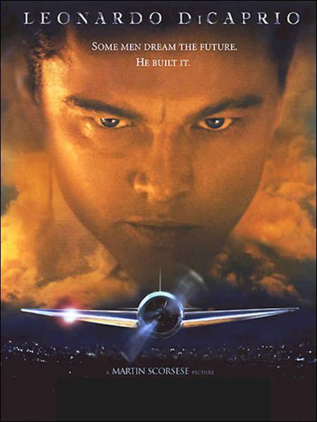 Ce film inspiré de la vie d'Howard Hugues met en scène Leonardo Di Caprio et s'appelle... ?