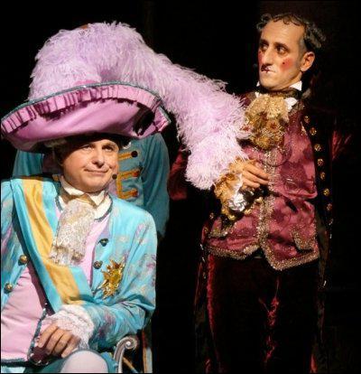 Comment s'appelle le comédien qui interprète Fridolin et Joseph II ?